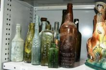 Various vintage collectable bottles,