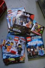 Qty of Lego manuals, books etc incl.