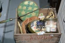 Vintage soap crate complete with
