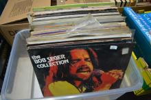 Box of LPs incl. Crosby, Stills & Nash,