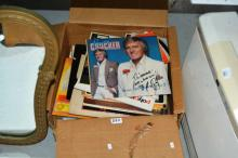 Qty vintage records, mostly LPs,