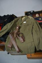 Original Australian army tunic complete with
