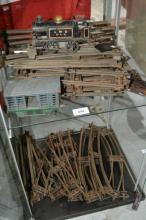 Lrge qty of O-gauge track complete with Tri-Ang