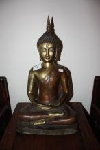 Chinese bronze Guan Yin, character marks impressed to rear, 41cm T