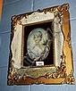 Lge Italian miniature portrait of a maiden painted