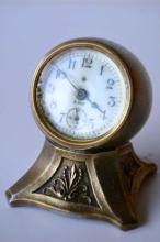 Antique ansonia desk clock,