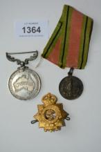 Small collection incl. a medal from Snr Cadets