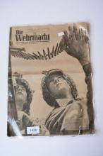 Original WWII newspaper, 'Die Wehrmacht',