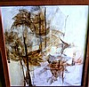 Susan Sheridan, oil on board, abstract forms,, Susan Sheridan, Click for value