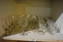 Large qty of drinking glasses