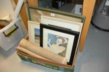 6 various artworks - 4 in frames, incl. Balmoral