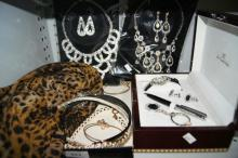 Collection of modern costume jewellery,