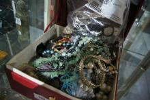 Huge qty of costume jewellery, necklaces,