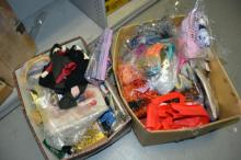2 boxes of haberdashery sewing items