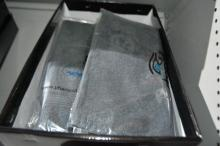 4 x boxes of as new Egyptian cotton towel sets,