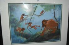 Original animation cell from Tarzan,
