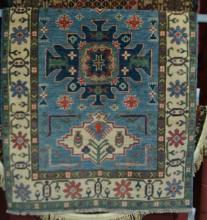 Afghan pure wool hand made Kazak rug