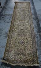 Kashmiri silk runner,
