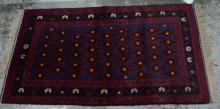 Persian Baluchi tribal rug,