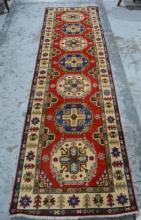 Afghan Chobi runner, pure wool, hand made,