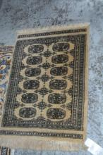 Small Pakistani pure wool rug