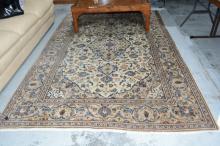 Persian Kashan pure wool hand made rug,