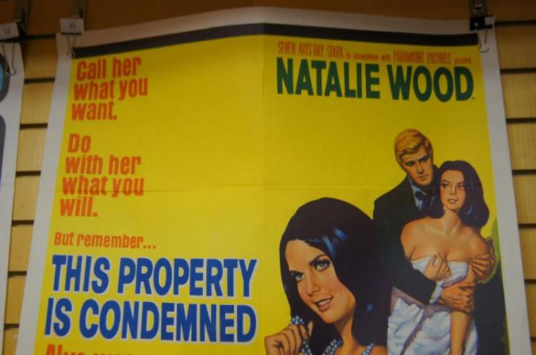 Original movie poster 'This Property is Condemned'