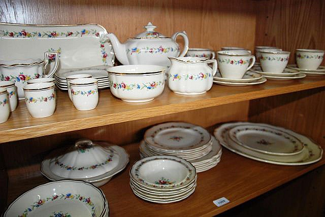 Royal Doulton dinner and tea service