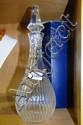 Stuart crystal decanter, comes with original box