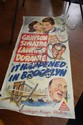 Vintage movie poster 'It happened in Brooklyn'