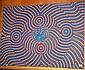 Gary Simon Jagamarra aboriginal dot painting on