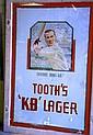 Original vintage pub sign B. Griffiths & Son, hand