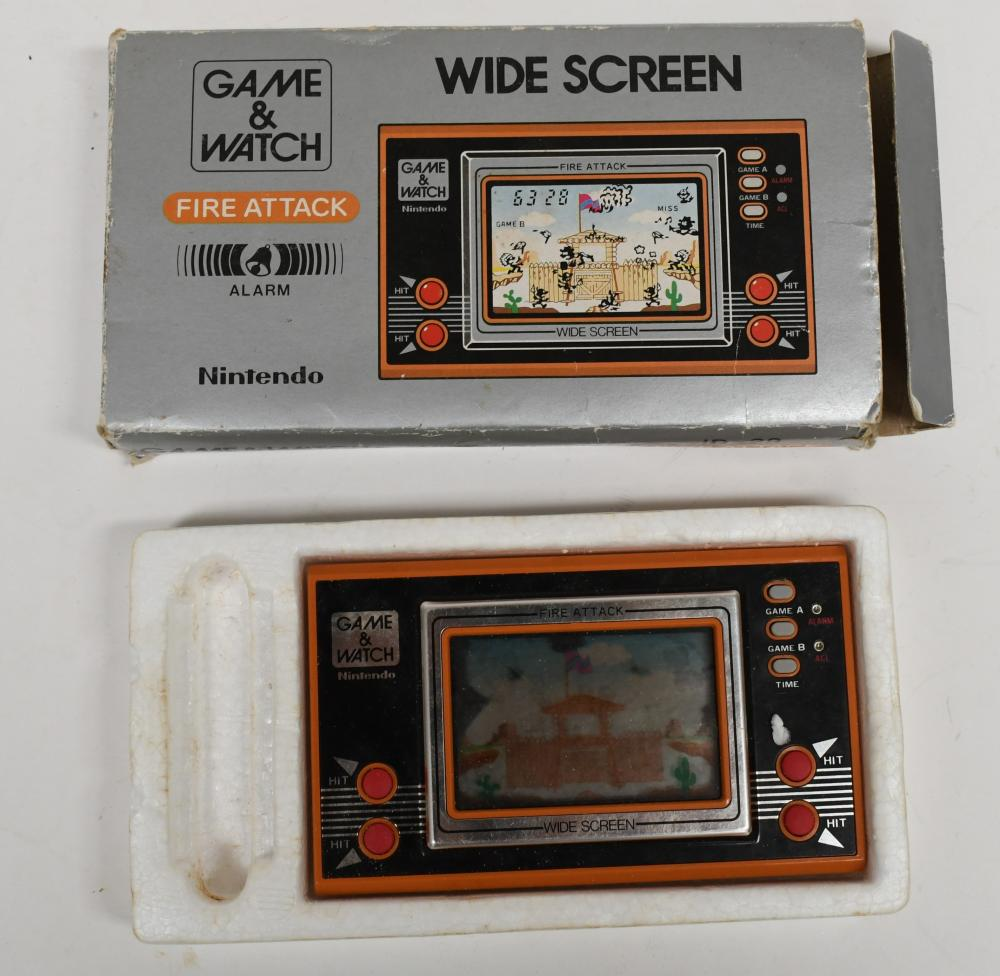 Nintendo Game & Watch, Fire Attack