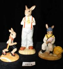 Collection of 3 Royal Doulton Bunnykins