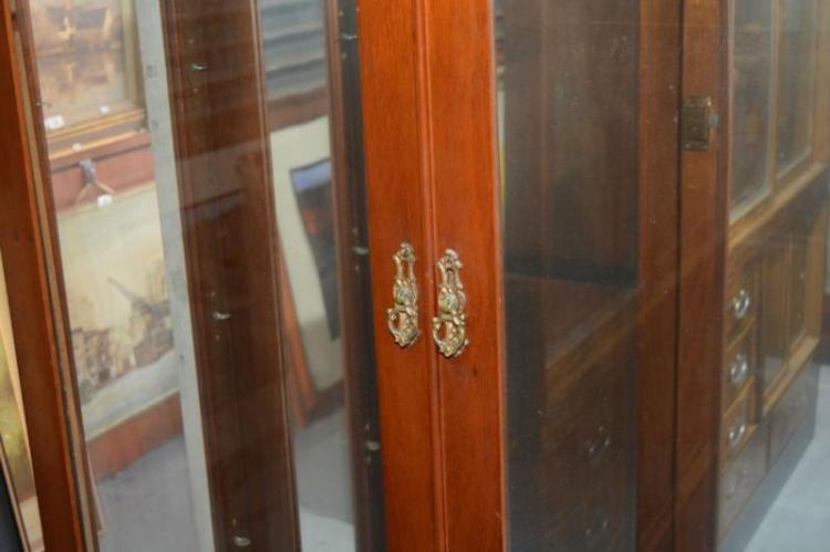 Vintage Cedar Display Cabinet By Mccain Of Sydney