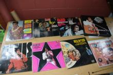 Qty of Elvis related records incl. 2 boxed sets
