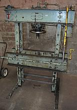 Old heavy duty Servex industrial press, max