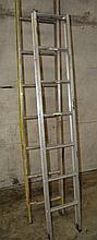 2 x various aluminium ladders 1 by Bailey