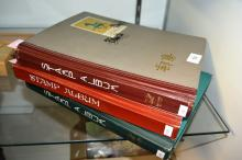 3 large albums containing assorted world stamps