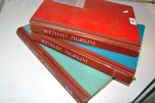 3 stamp albums containing assorted Australian stamps