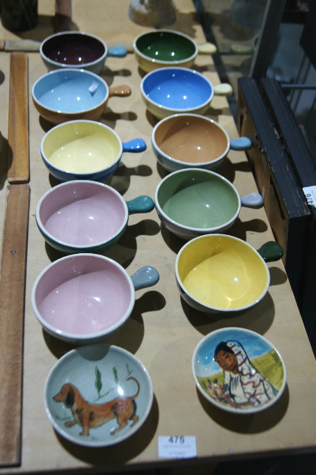 Qty Of 10 Guy Boyd Pottery Ramekins