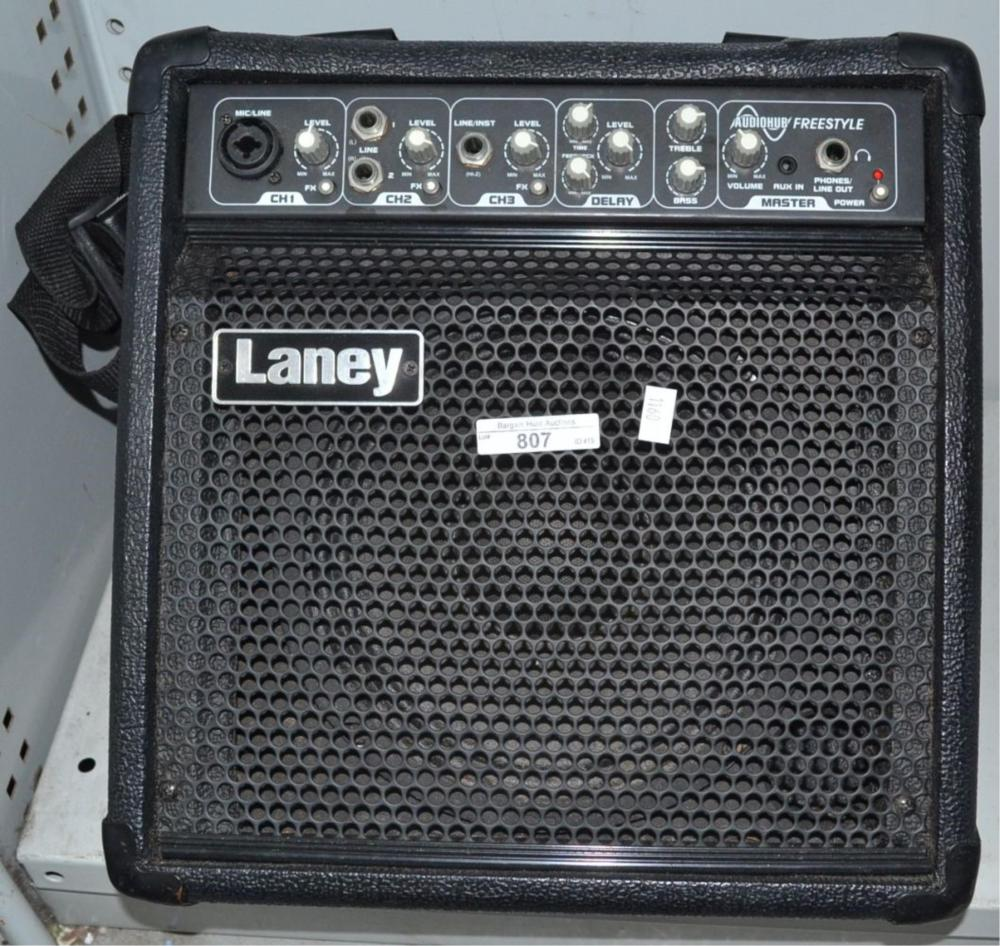 Audiohub freestyle amplifier by Laney,