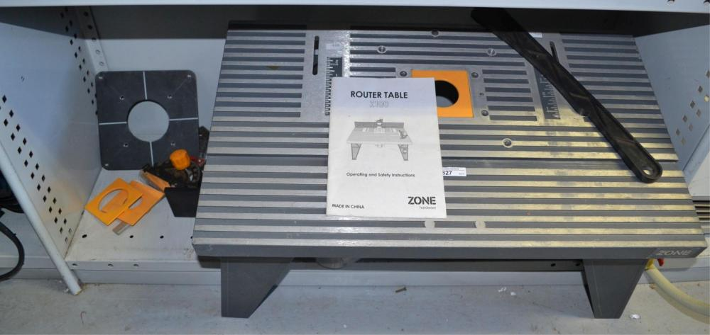 A Zone router table,