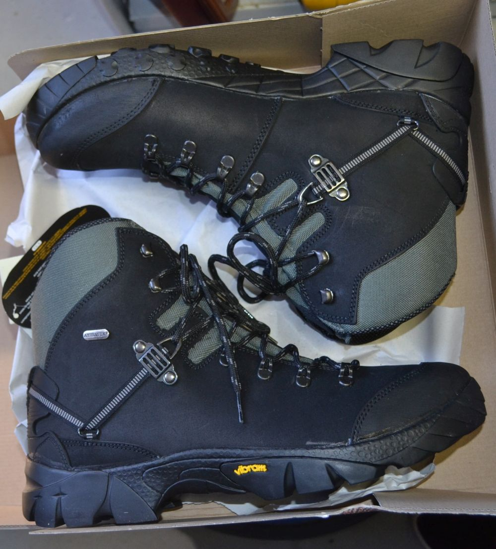 Pair of Atiba hiking boots by Vibran,