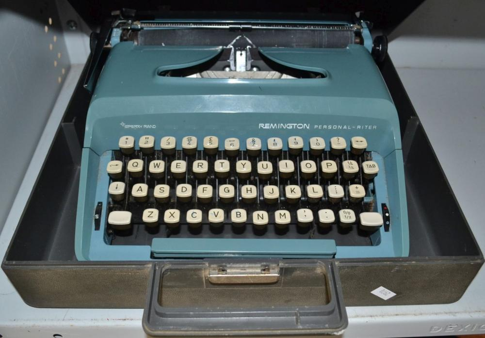 Remington personal typewriter