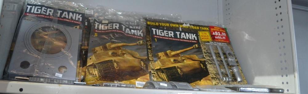 Tiger tank plastic model kit