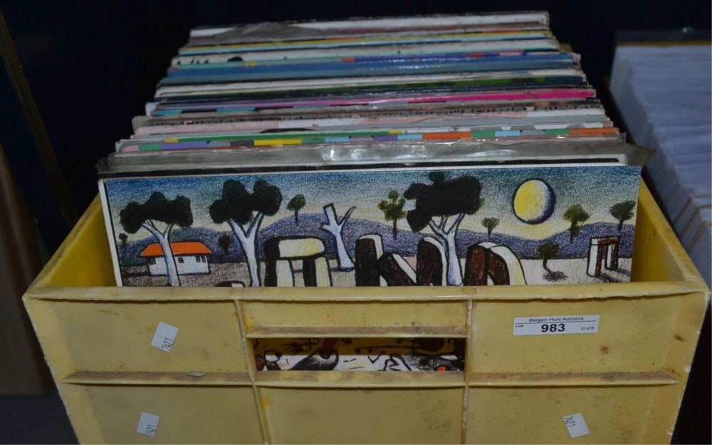 Approx. 107 assorted LP records incl.