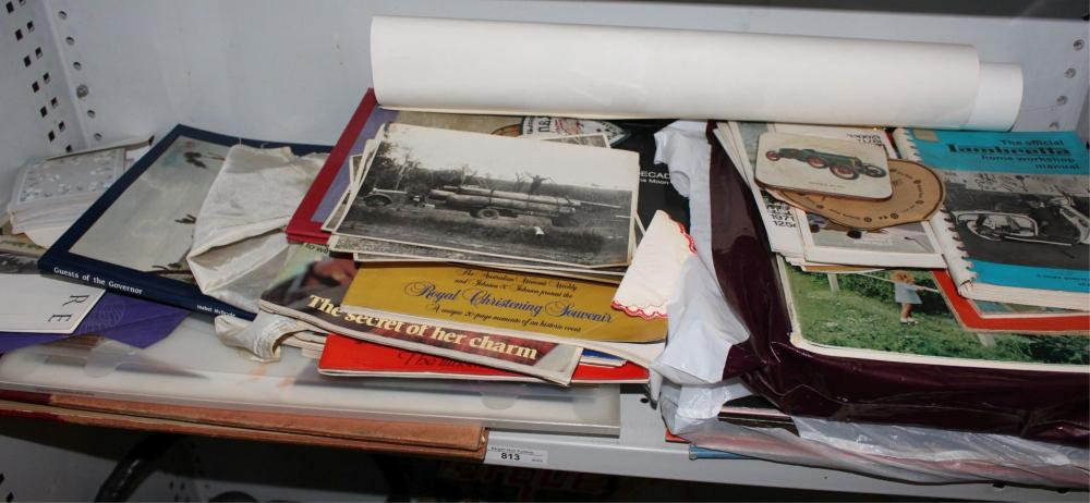 Large qty of various ephemera collectables