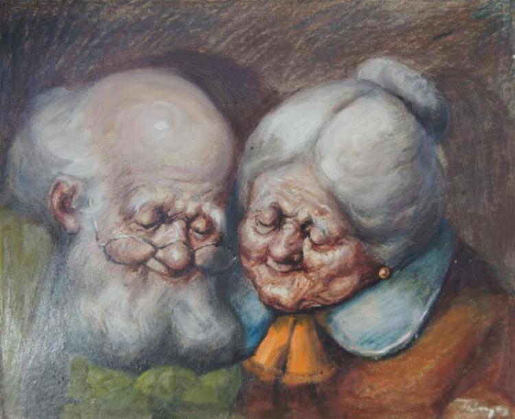Zoltan Fenyes (1924-97), 'Golden Age',