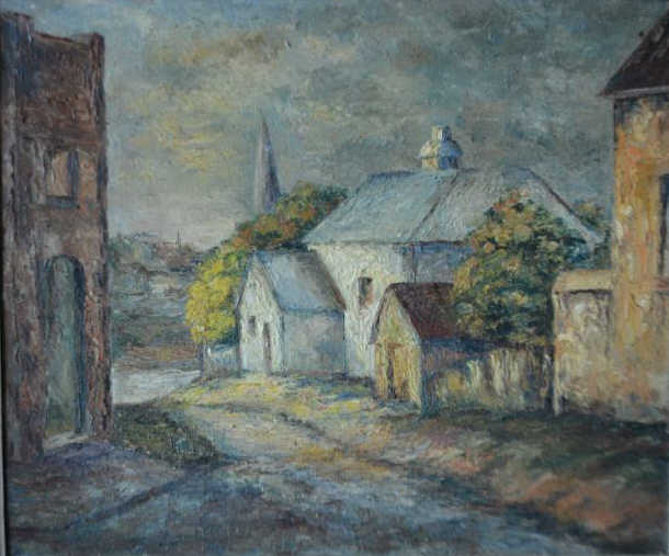 Doreen Gadsby (1926-), 'White House, Parramatta',